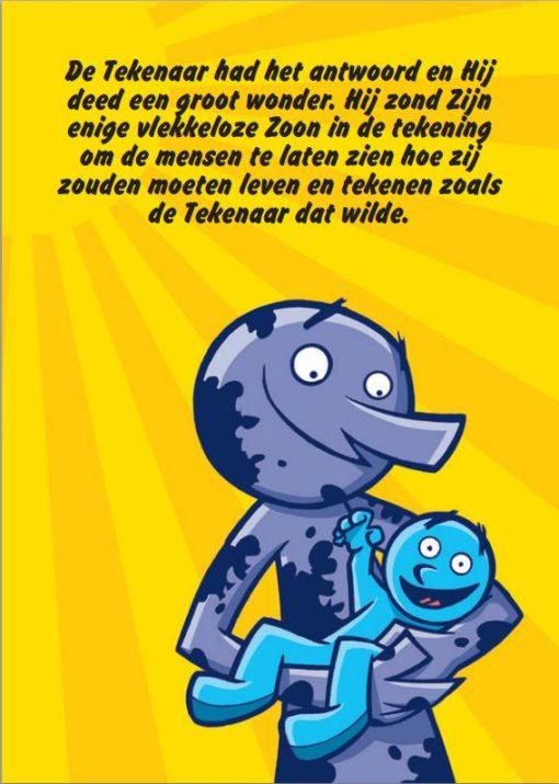 De Goede Tekenaar blz. 18 - Gratis - Evangelisatie-Materiaal.nl