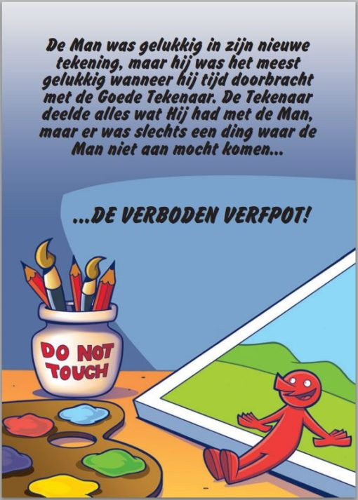 De Goede Tekenaar blz. 4- Gratis - Evangelisatie-Materiaal.nl