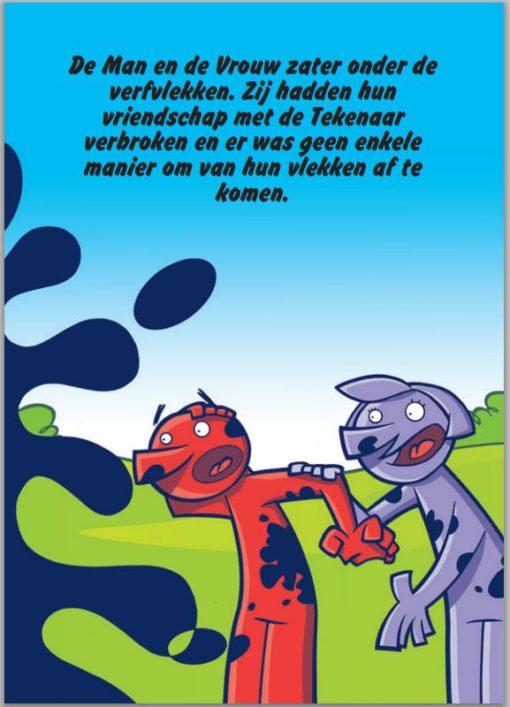De Goede Tekenaar blz. 8 - Gratis - Evangelisatie-Materiaal.nl