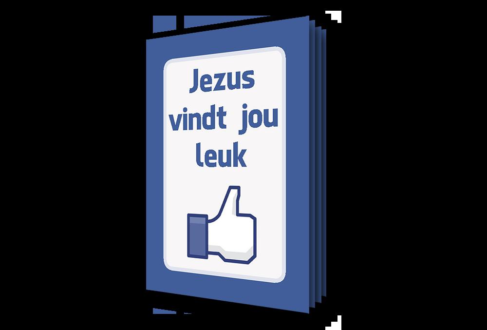 Evangelisatie mini boekje - Jezus vindt jou leuk - perspectief - Evangelisatie-materiaal.nl