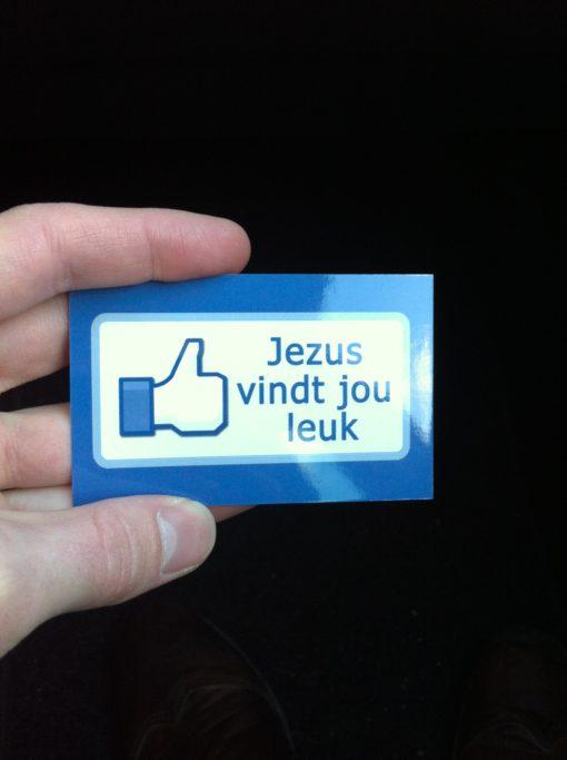 Evangelisatie traktaat - Jezus vindt jou leuk