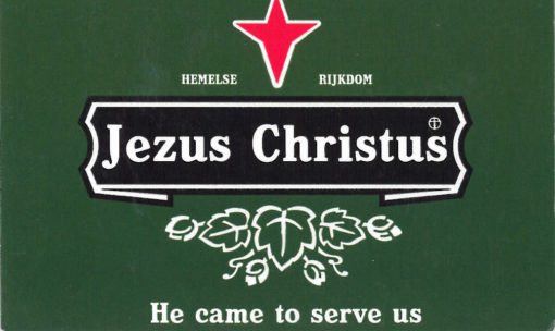 Jezus Christus - He came to serve us traktaat