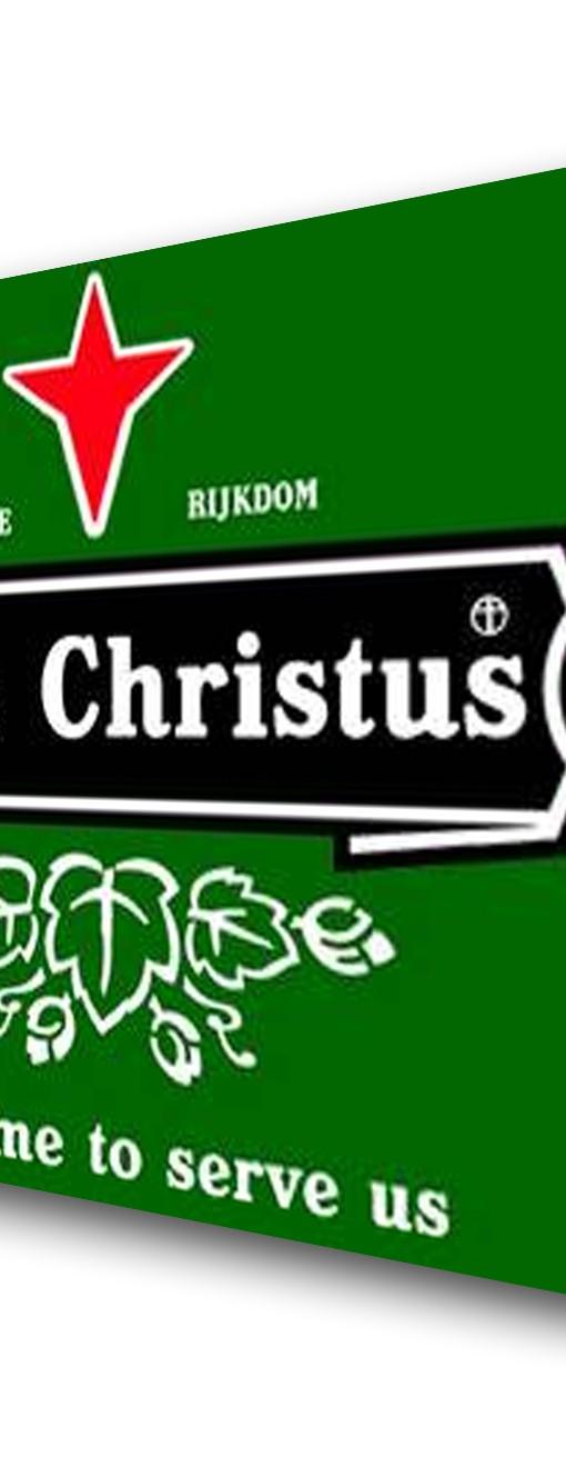 Jezus-Christus-he-came-to-serve-us-Heineken-evangelisatiemateriaal