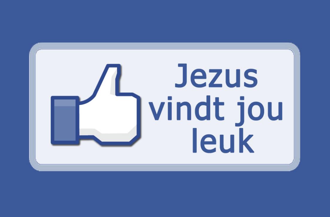 Jezus vindt jou leuk - evangelisatie traktaat (voorkant)