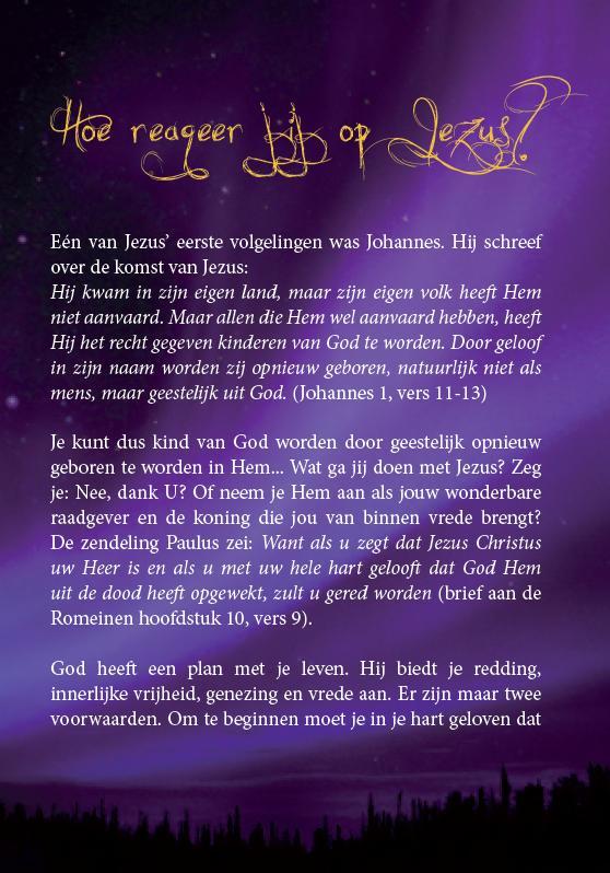 Kerst evangelisatie brochure - Ik wens je de vede van kerst toe - Derek Prince (blz 18)