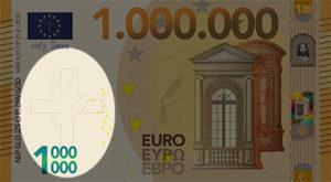 Miljoen Euro Biljet - 2018 voorkant links kruis uitgelicht - evangelisatie-materiaal.nl