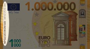 Miljoen Euro Biljet - 2018 voorkant links uitgelicht - evangelisatie-materiaal.nl