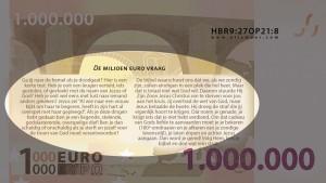 Miljoen euro biljet traktaat achterkant tekst 2016