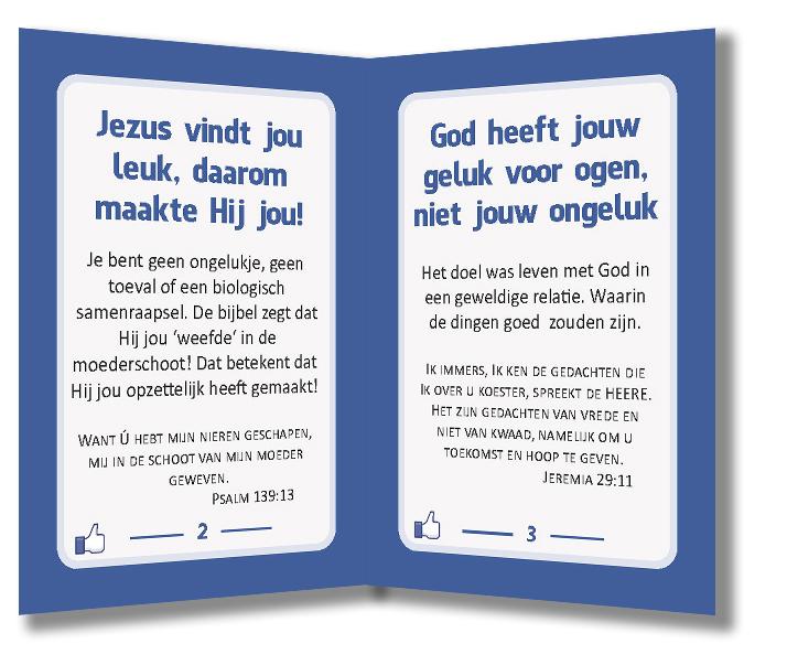 Miniboekje evangelisatie - Jezus vindt jou leuk - Evangelisatie-materiaal.nl - Pagina 2-3