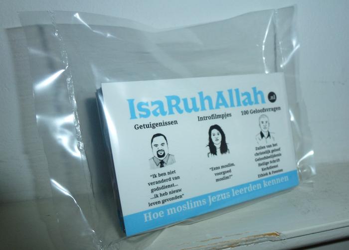 Moslims evangelisatie traktaat - IsaRuhAllah (25 stuks)