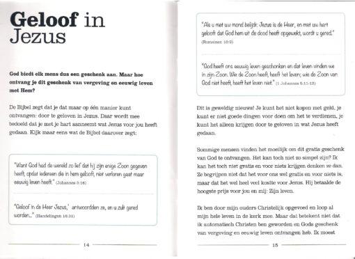 Nieuw leven p.14 en p.15- Henri Hupscher - evangelisatie boekje
