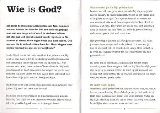 Nieuw leven p.4 en p.5- Henri Hupscher - evangelisatie boekje