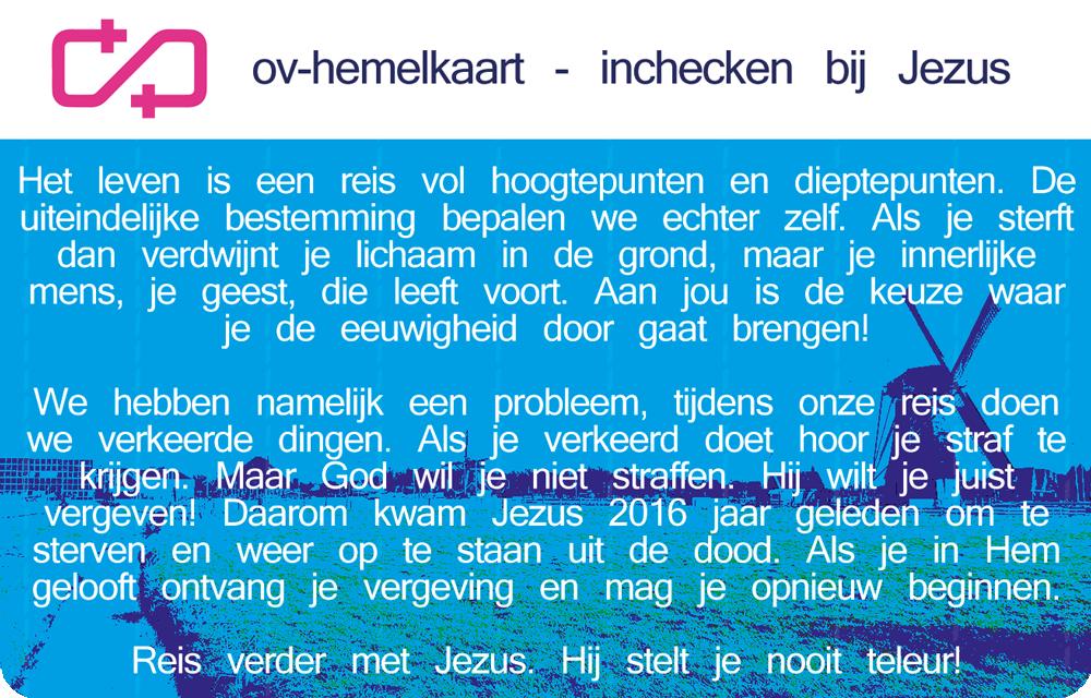 OV-Hemelkaart - OV-Chipkaart evangelisatie-materiaal.nl - achterkant