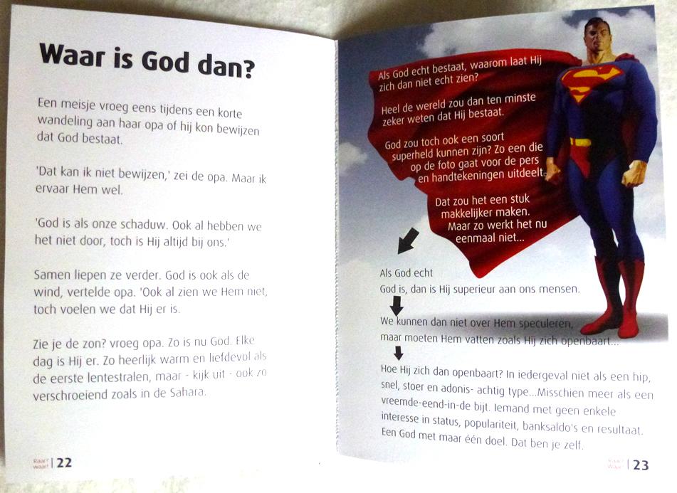 Raar maar Waar - Hermen de Groen (blz. 22 en 23) evangelisatie boekje