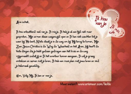 Vaders Liefdesbrief achterkant Evangelisatie-Materiaal.nl