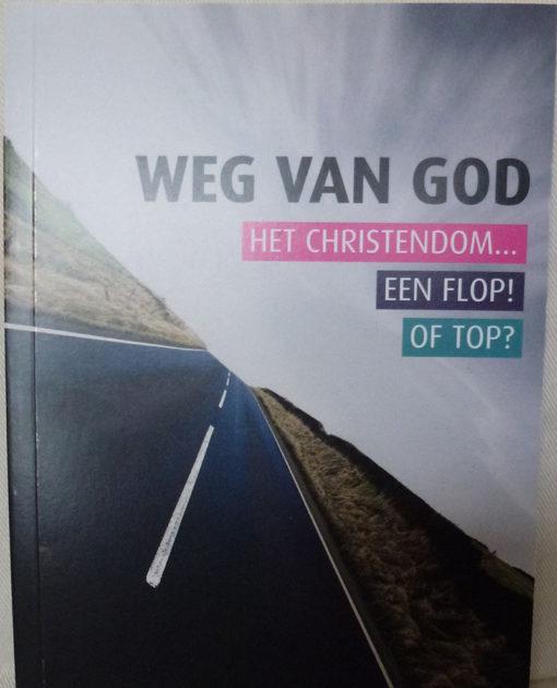 Weg van God - Hermen de Groen (voorkant)
