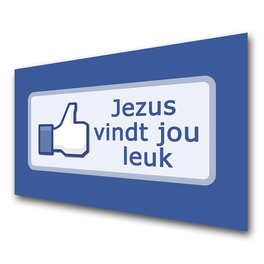 jezus-vind-jou-leuk-facebook-voorkant-evangelisatiemateriaal-traktaat